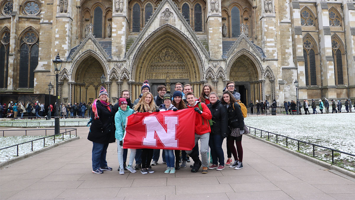 Honors students abroad